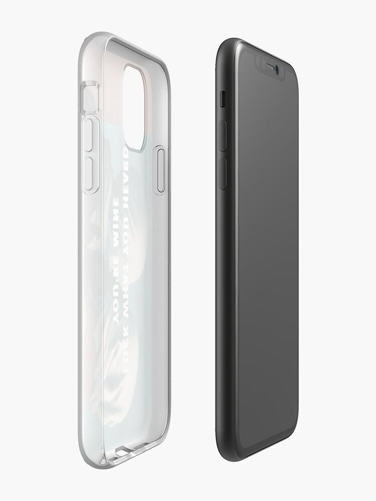 Coque iPhone «FUCK CE QUE VOUS AVEZ ENTENDU», par Barbzzm