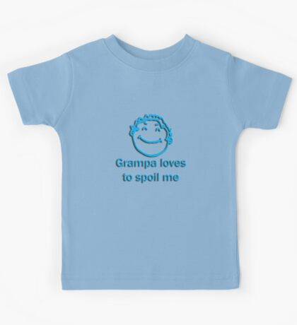 grampa spoil - blue Kids Clothes