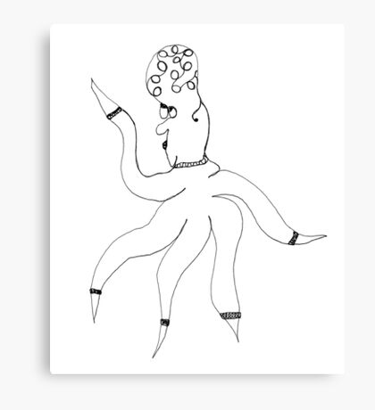 Wilma Whimsy Canvas Print
