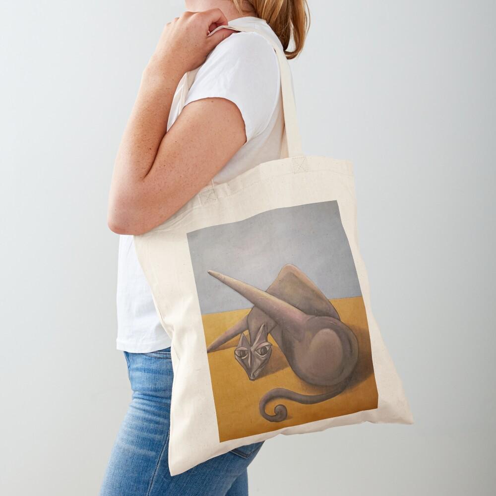 Cat Bath Tote Bag