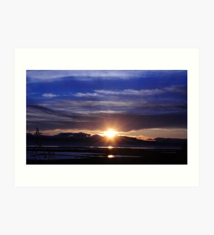 Mare Island Sunset 10 Art Print