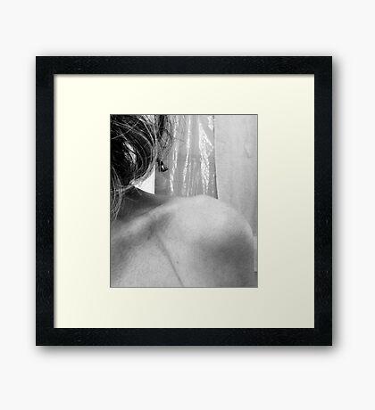 04-22-11:  Suffering For Art Framed Print