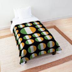 Ireland Emoji JoyPixels Love Irish Comforter