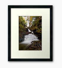 Huron Falls (Autumn) Framed Print