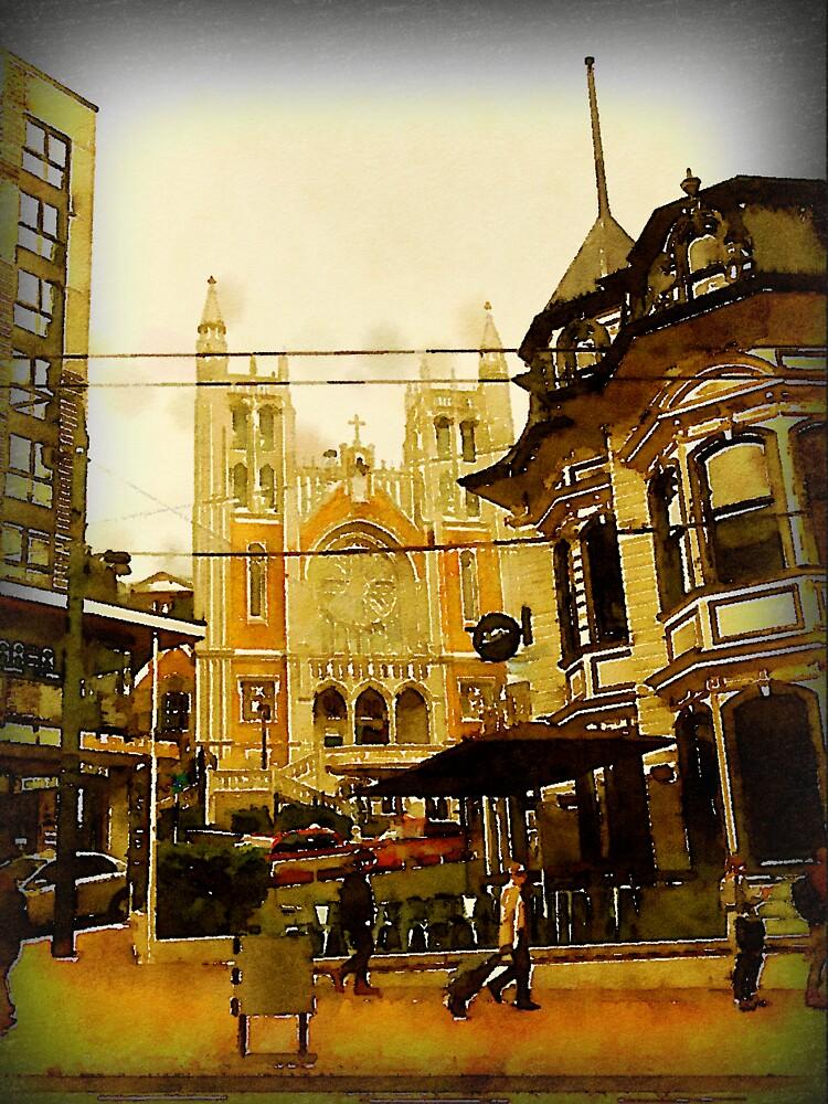 Street Scene, Wellington, New Zealand by douglasewelch