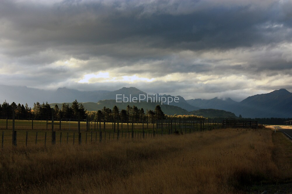 South island, New Zealand by EblePhilippe