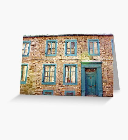 Stone House Greeting Card
