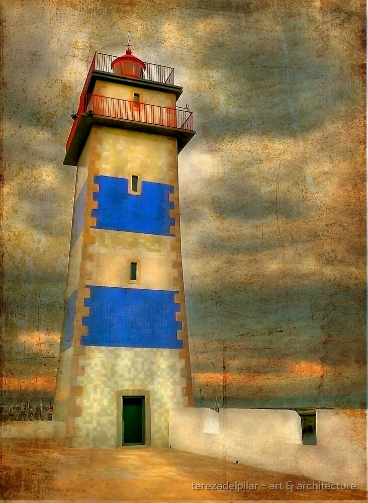 I will follow you... (Farol de Cascais). by terezadelpilar ~ art & architecture