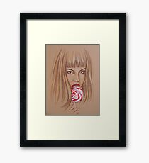 Lollipop Framed Print