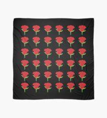 Red Rose Emoji JoyPixels Lovely Roses Scarf