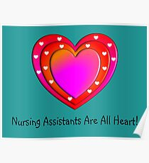 148e822e19b9 Nursing Assistant Posters | Redbubble