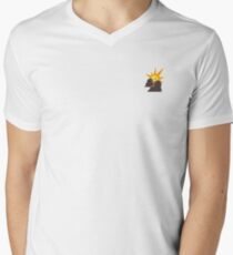 Artifice Small Corporate Logo Mens V-Neck T-Shirt