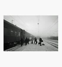 Trans-Siberian winter journey  Photographic Print