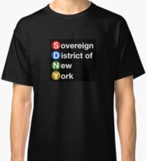 Sovereign District of New York Classic T-Shirt
