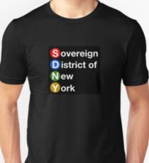 Sovereign District of New York Slim Fit T-Shirt