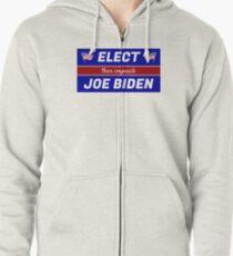 Elect (then impeach) Joe Biden Zipped Hoodie