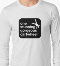 one stunning gorgeous cartwheel Long Sleeve T-Shirt