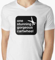 one stunning gorgeous cartwheel V-Neck T-Shirt