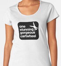 one stunning gorgeous cartwheel Premium Scoop T-Shirt