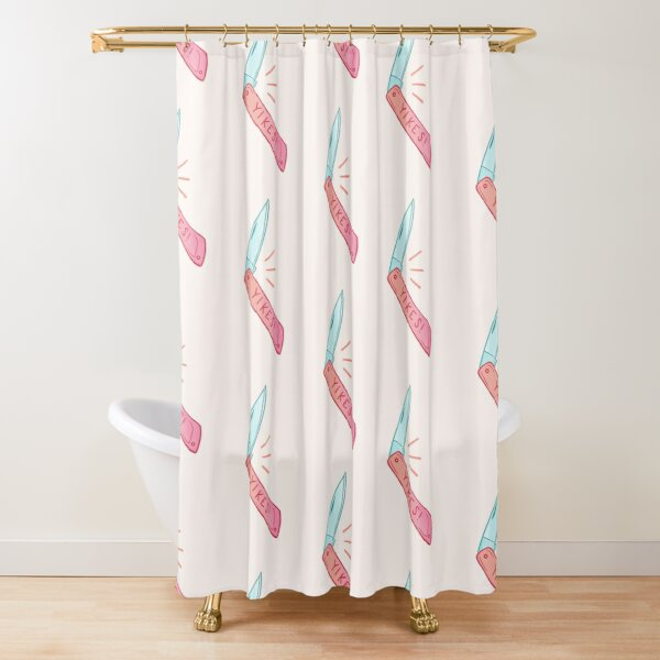 Yikes! Shower Curtain