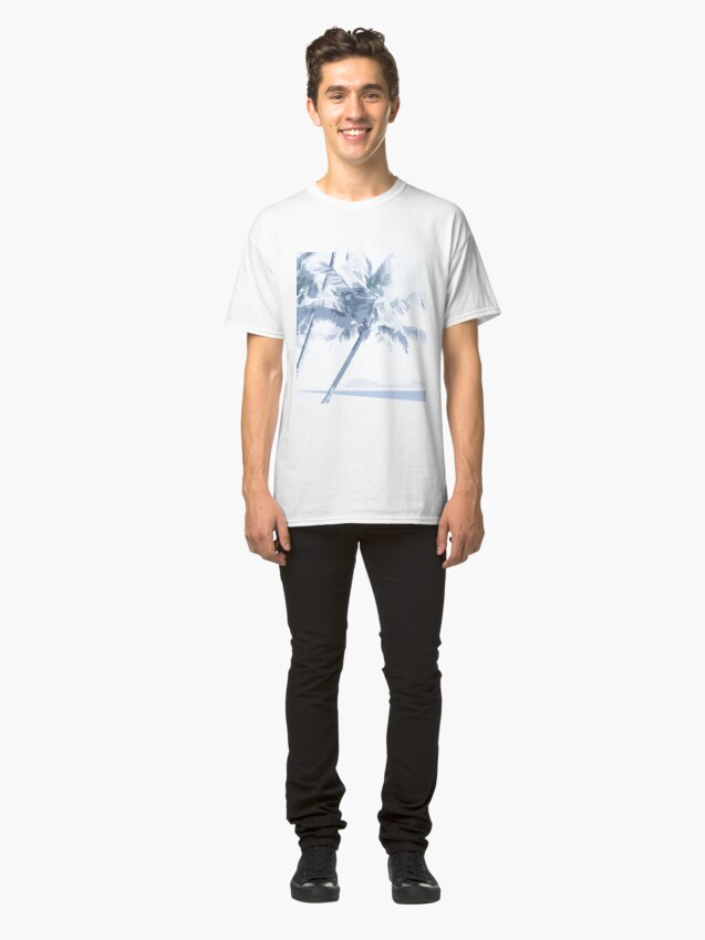 Alternate view of Palm Cove Graphic Art Square 1 Classic T-Shirt