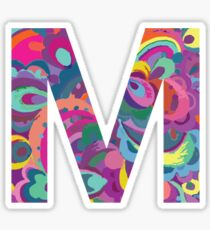 M Sticker