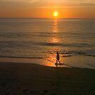 Morning walk by Larry  Grayam