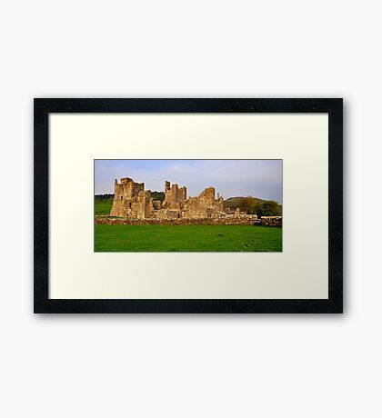 Fore Abbey. Framed Print