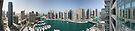 Dubai Marina Panorama by David Clarke