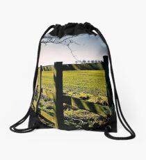 Rural Boundaries... Drawstring Bag