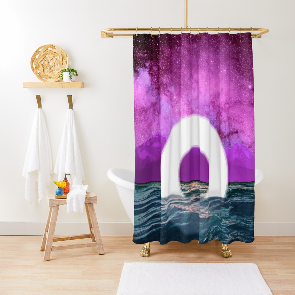 Torid of Solitude Shower Curtain
