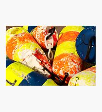 The Buoys of Covehead Harbour Photographic Print