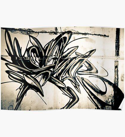 Lillesden Graffiti #1 Poster