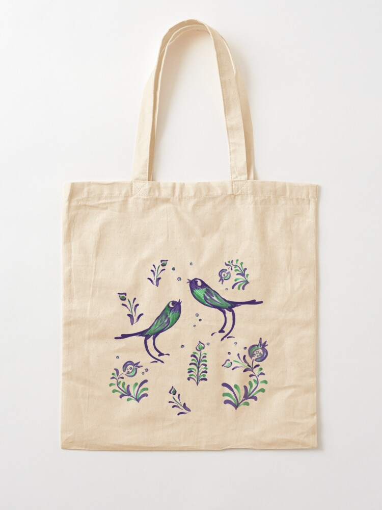 Alternate view of Granada  · Loving Birds Warbling Happiness · Grenada Albayzin Style Tote Bag