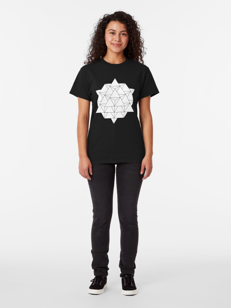 Alternate view of 64 Tetrahedron Classic T-Shirt