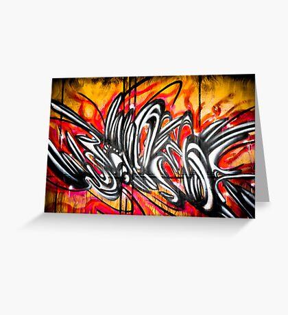 Lillesden Graffiti #2 Greeting Card