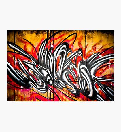 Lillesden Graffiti #2 Photographic Print