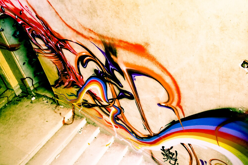 Lillesden Graffiti #3 by Richard Pitman