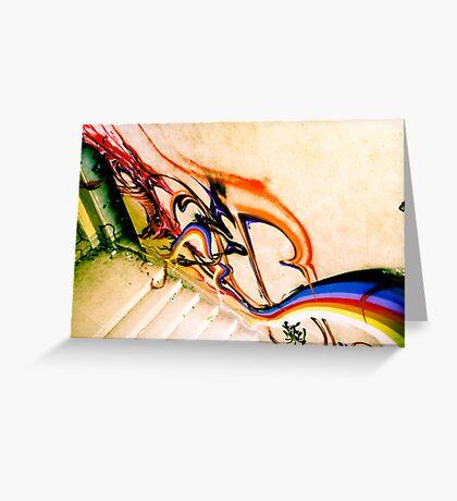 Lillesden Graffiti #3 Greeting Card