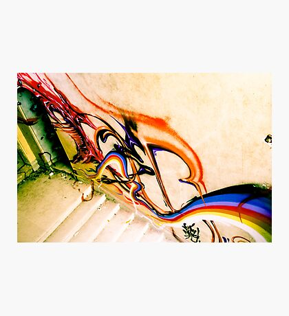 Lillesden Graffiti #3 Photographic Print