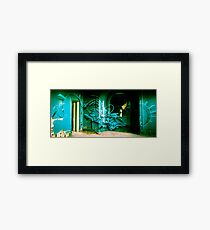 Lillesden Graffiti #4 Framed Print
