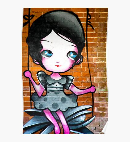 Lillesden Graffiti #6 Poster