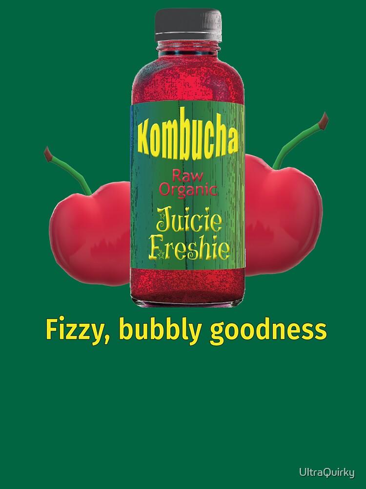 Kombucha. Fizzy Bubbly Goodness. by UltraQuirky