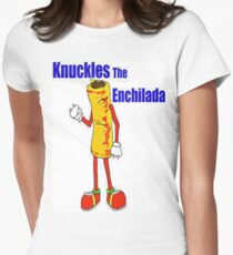 Knuckles the Enchilada Women's Fitted T-Shirt
