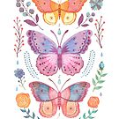 Butterflies and Moths Tab.IV by Vlad Stankovic