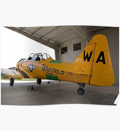 North American SNJ-6 Texan (Warbird Adventures) Poster