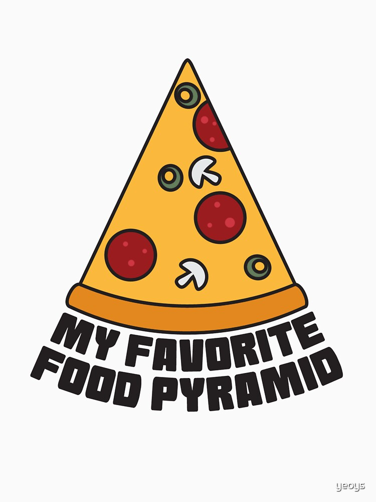 Pizza Party - My Favorit Food Pyramid von yeoys