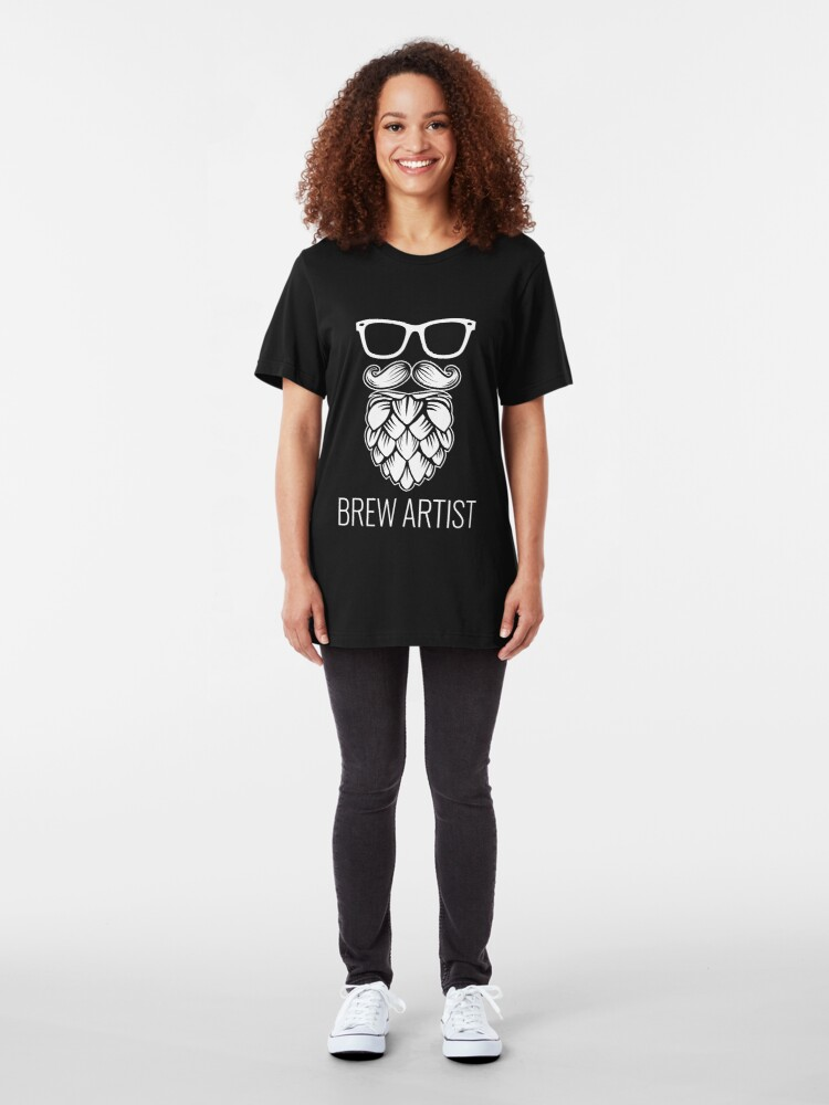Alternative Ansicht von Brew Artist - Craft Beer Slim Fit T-Shirt
