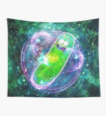 Pickle Rick in Space | Rick and Morty | Flower of Life Tapestry
