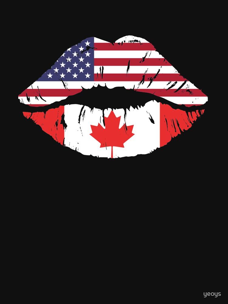 USA Canada Kiss - Dual Citizenship von yeoys